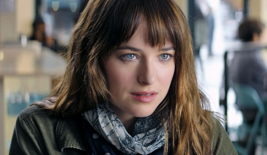 Dakota Johnson es Anastasia Steele
