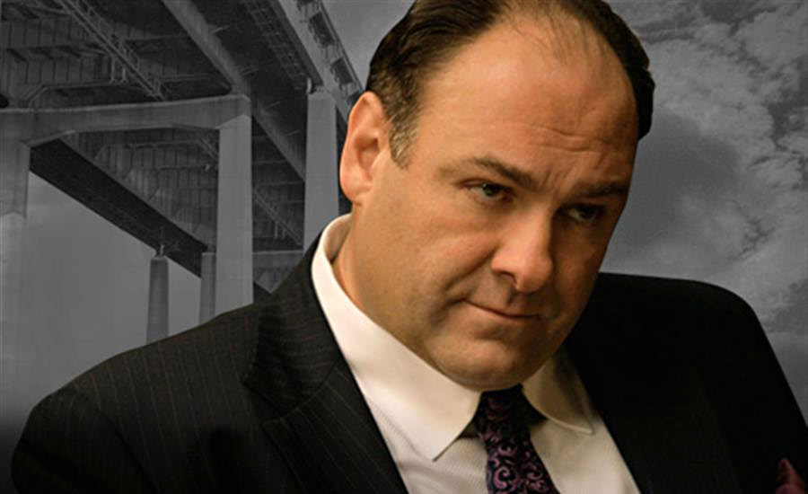 James Gandolfini como Tony Soprano