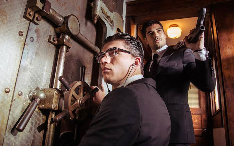 Los hermanos Gecko en From Dusk Till Dawn: The Series