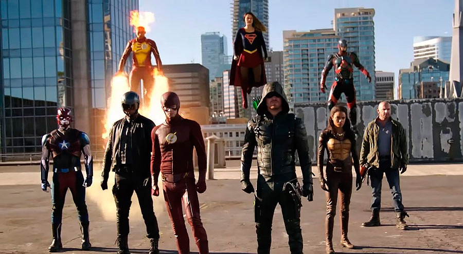 Crossover Supergirl, The Flash, Arrow & Legends of Tomorrow