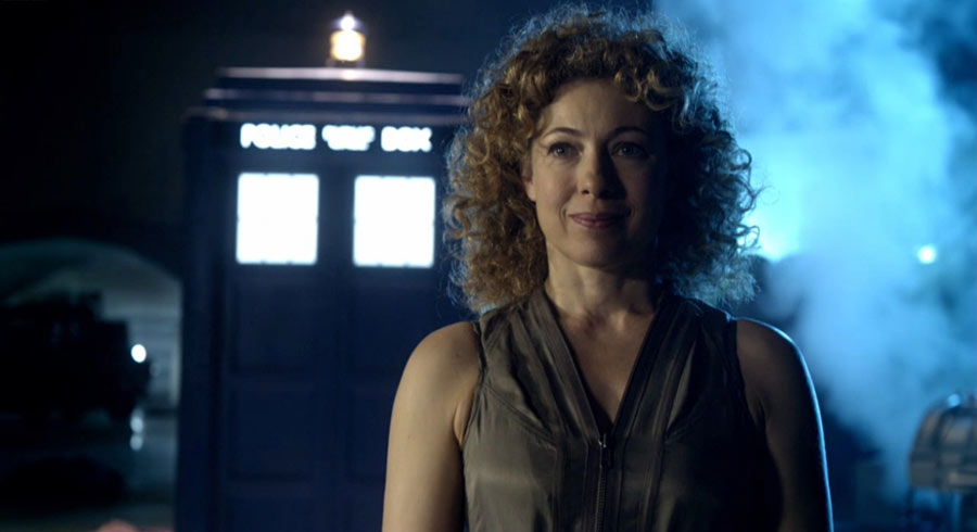 River Song (Alex Kingston) en Doctor Who