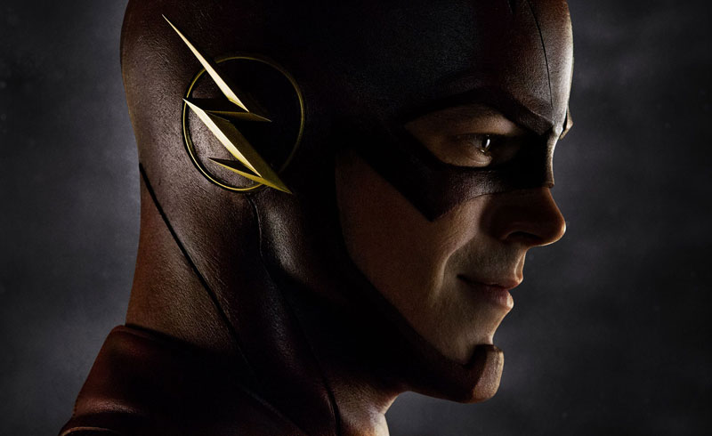Grant Gustin como Flash