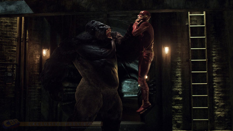 Grodd en The Flash