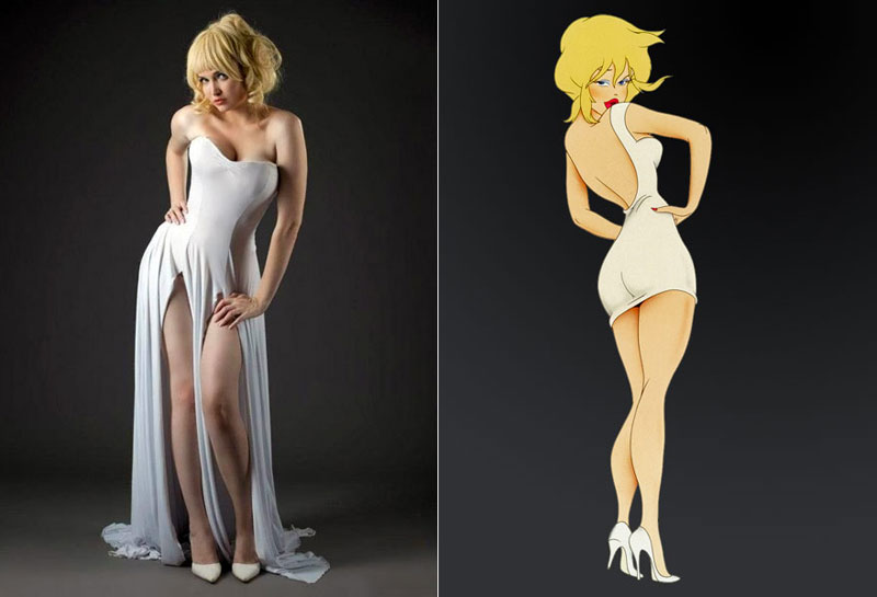 Holli Would (Cool World) - Costume / Cosplay