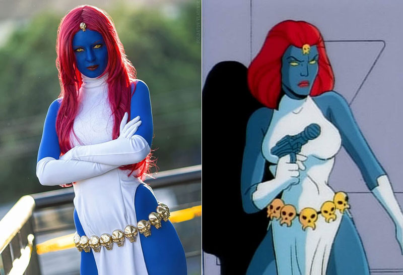 Mística (X-Men) - Costume / Cosplay