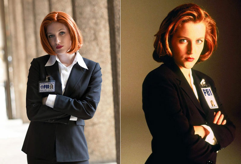 Dana Scully (Expediente X) - Costume / Cosplay